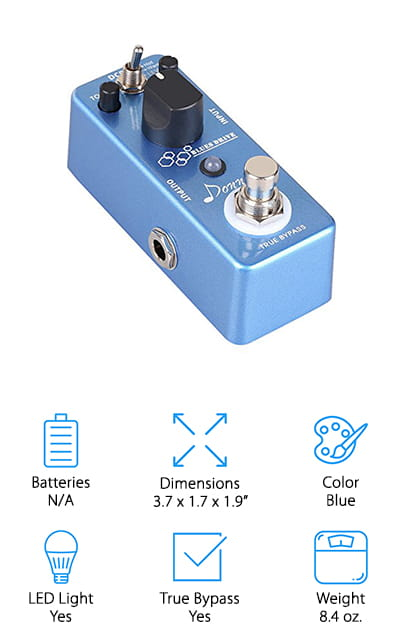 Donner Blues Drive Pedal