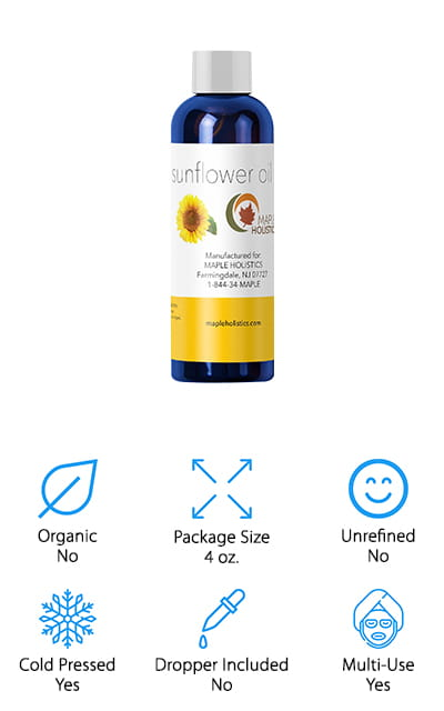 Maple Holistics Sunflower Oil Moisturizer