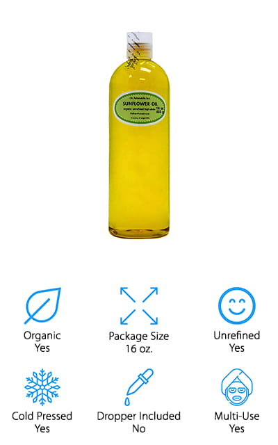 Dr. Adorable Sunflower Oil