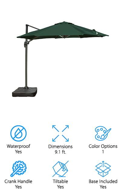 Budge PATUC4000H Umbrella