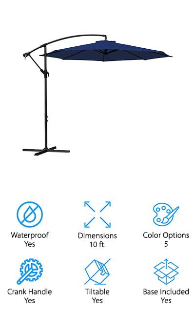 JEAREY Patio Umbrella