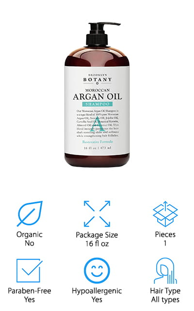 Brooklyn Botany Argan Oil Shampoo