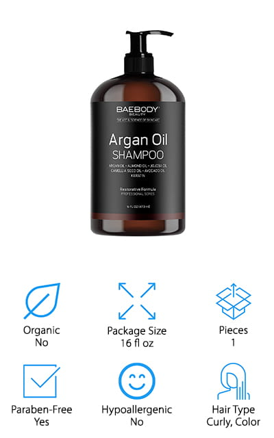 Baebody Argan Oil Shampoo