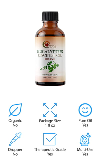 Maple Holistics Eucalyptus Oil
