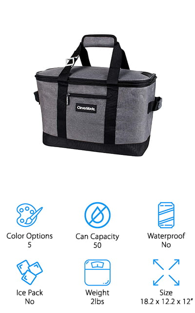 CleverMade SnapBasket Cooler