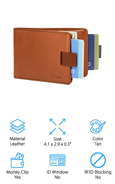 Distil Union Slim Bifold Wallets