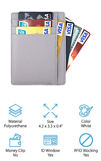 Aonal Slim RFID Wallet