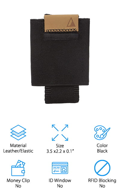 NOMATIC Black Slim Wallet