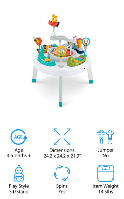 Fisher-Price Sit-to-Stand Activity Center