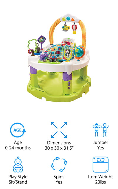 Evenflo World Explorer Exersaucer