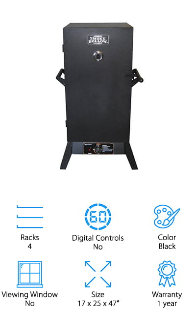 Outdoor Leisure Propane-Gas Smoker