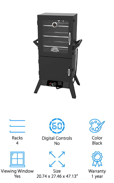 Smoke Hollow Propane Gas Smoker