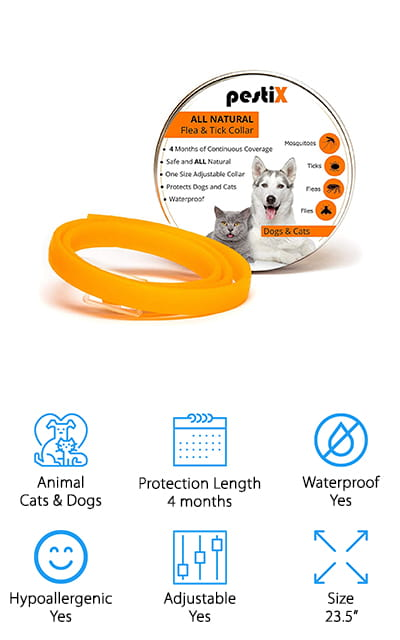 pestiX Flea Prevention Collar