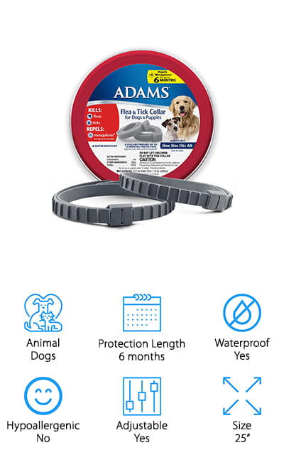 Adams Flea & Tick Collar