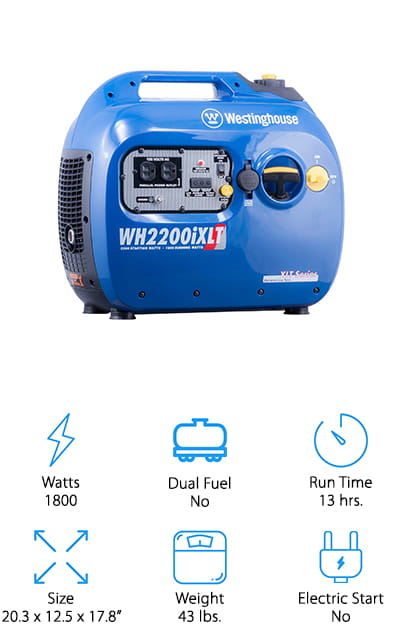 Westinghouse Super Quiet Generator
