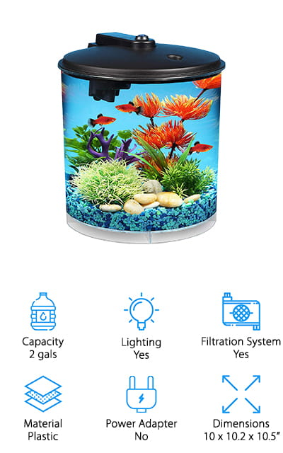 Koller AquaView Fish Tank