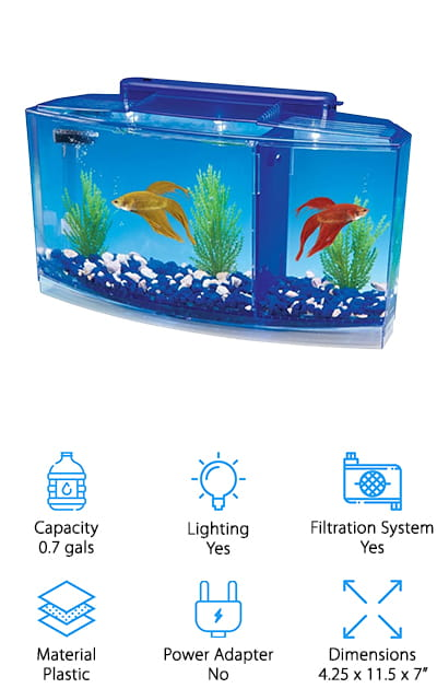 Penn Plax Betta Bow Tank
