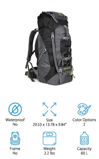 OUTLIFE Hiking Backpack