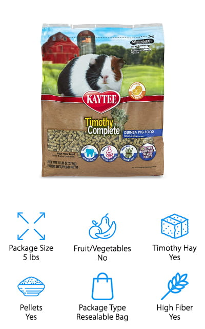 Kaytee Timothy Guinea Pig Food