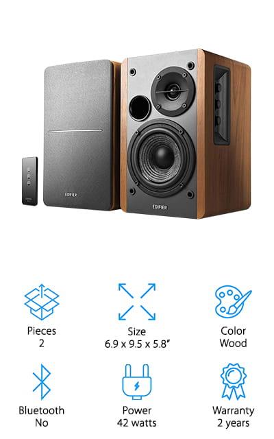 Edifier R1280T Powered Speakers