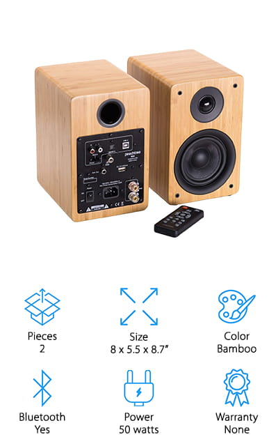 Peachtree M24 Powered Speakers
