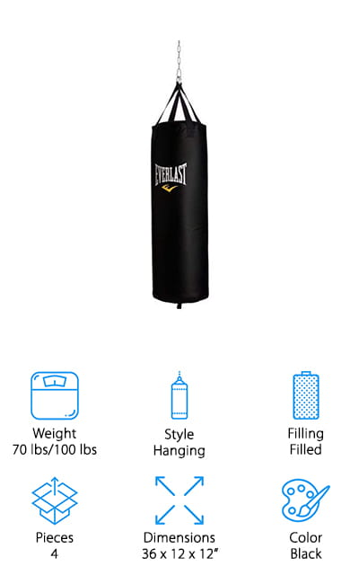Everlast Heavy Bag Kit