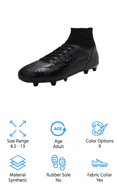 DREAM PAIRS Men's Soccer Shoes