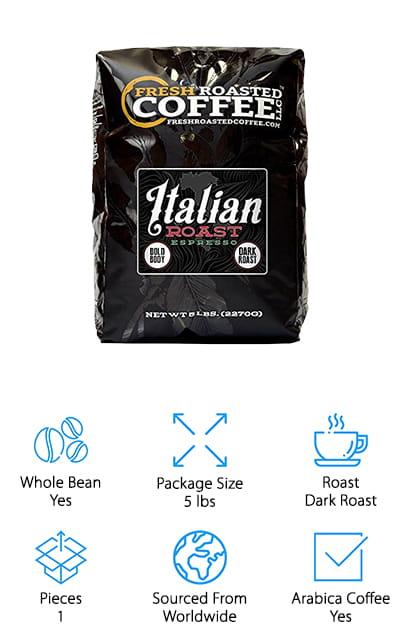 Fresh Roasted Coffee Espresso Beans