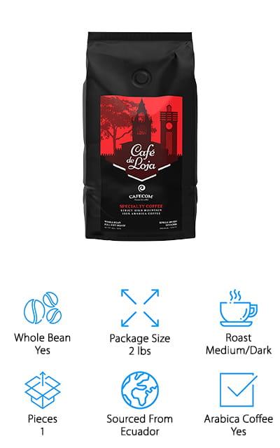 Café de Loja Coffee Beans
