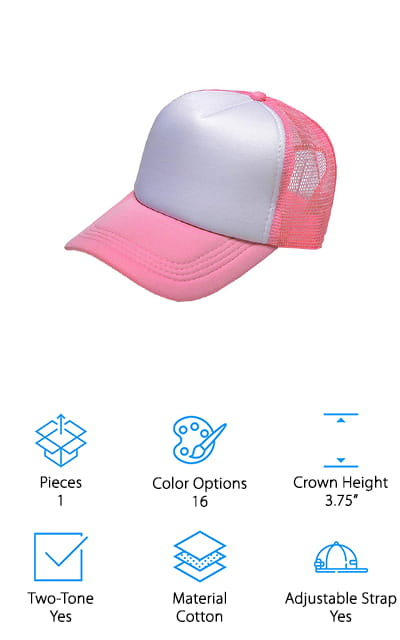 Small-Mark Trucker Hat