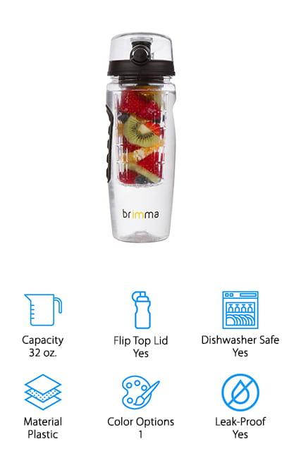 Brimma Fruit Infuser Water Bottle