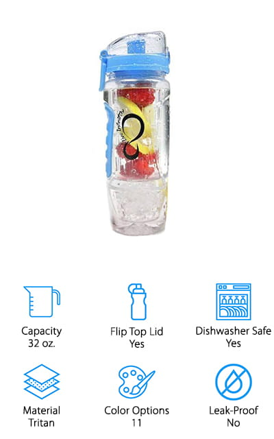 Live Infinnitely Infuser Water Bottle