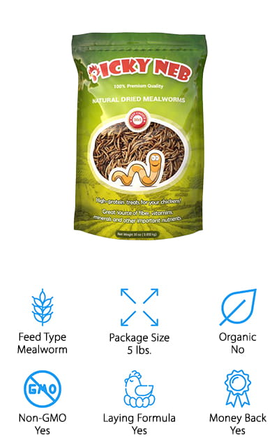 PICKY NEB Dried Mealworms