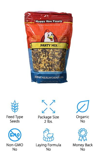 Happy Hen Treats Party Mix