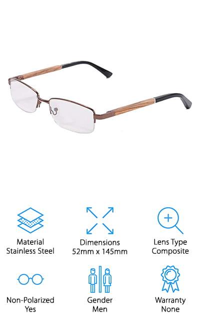 SHINU Wood Glasses Frames
