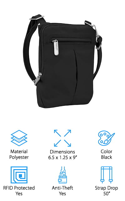 Travelon Mini Crossbody Bag