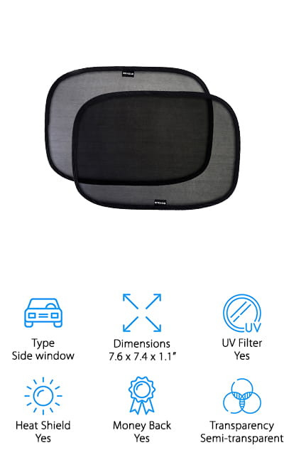 Enoyoe Car Window Shade