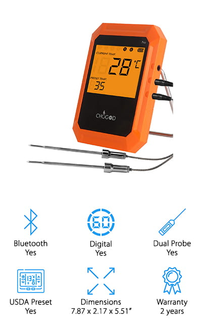 Uvistare Meat Thermometer