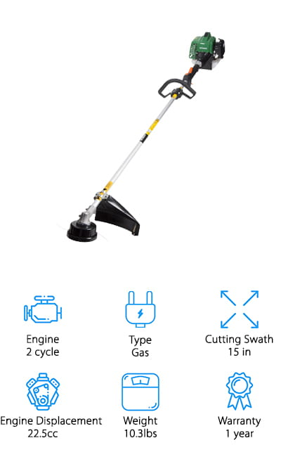 Hitachi CG23ECPSL String Trimmer