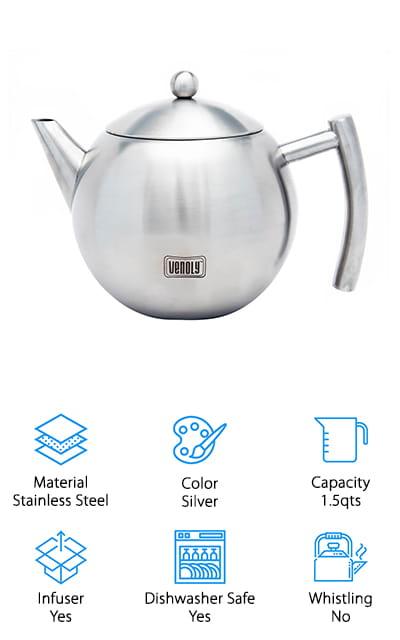 Venoly Infuser Tea Pot
