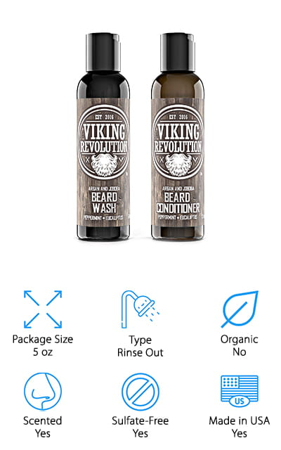 Viking Revolution Beard Conditioner