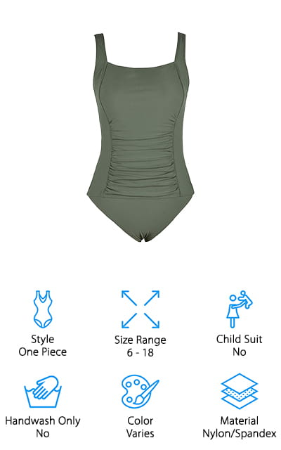 Mycoco Tummy Control Swimsuit