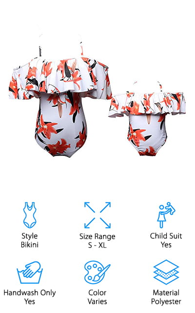 Kakawayi Kokowaii Matching Swimwear