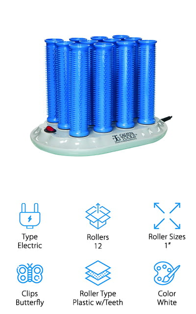 Calista Tools Ion Hot Rollers