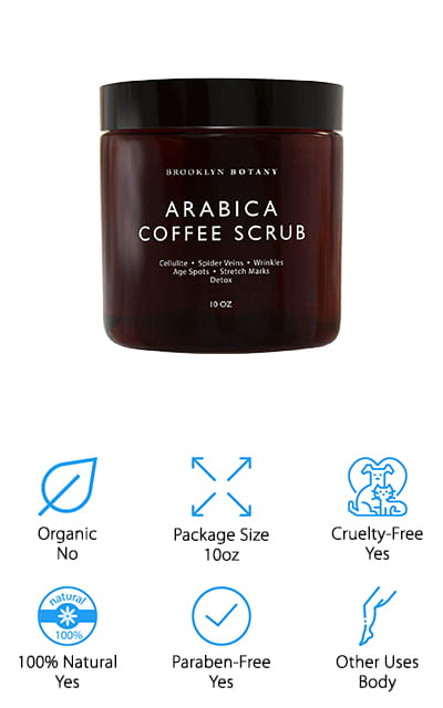 Brooklyn Botany Coffee Scrub