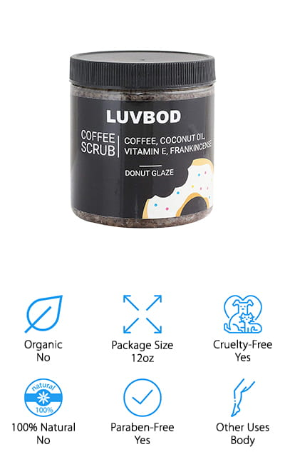 LUVBOD Luxury Coffee Scrub