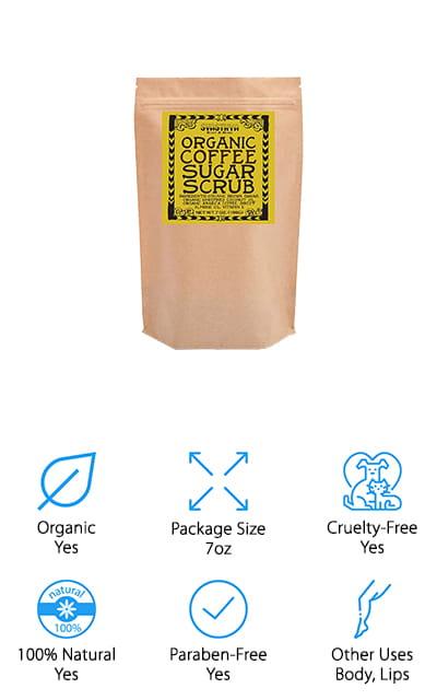 Svasthya Coffee Sugar Scrub
