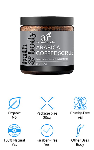 ArtNaturals Arabica Coffee Scrub