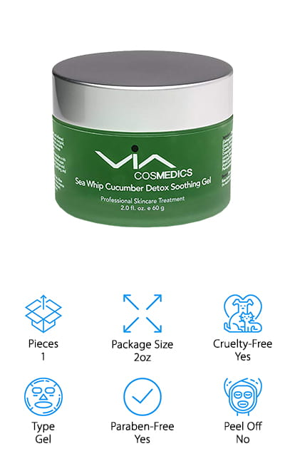 VIA Cosmetics Sea Whip Mask