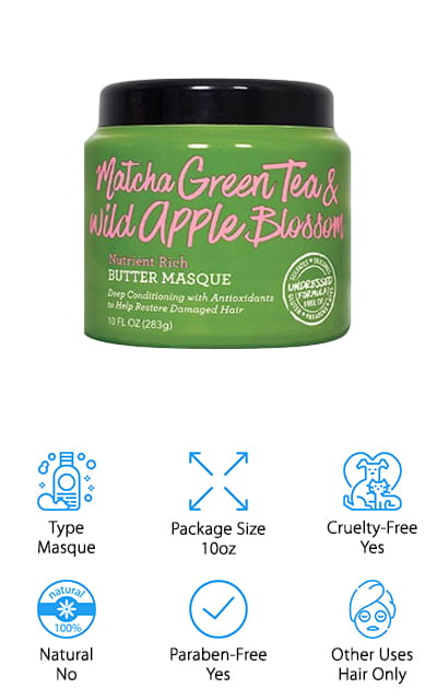 Not Your Mother's Green Tea Masque